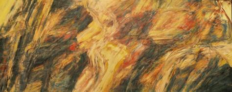 Auction-Lot 57 Abdul Latiff Mohidin %22Landskap Rimba 96%22 (1996) 81cm x 203cm Oil on Canvas)1