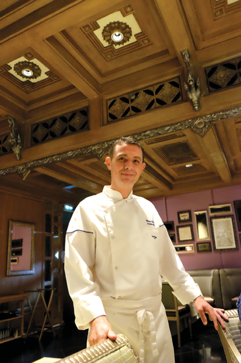 Chef Philippe whips up delicious Thai dishes at Benjarong Dusit Thani