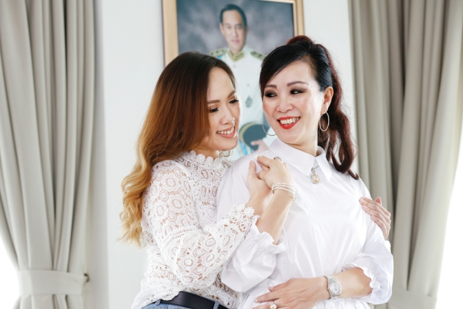 Datin Peggy Khoo and Joyce Lim