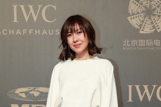 "BEIJING, CHINA - APRIL 18: Fashion Stylist Liz Uy attends IWC's ""For the Love of Cinema"" Gala, held during the 2017 Beijing International Film Festival at the Imperial Ancestral Temple, just outside Beijing's Forbidden City. (Photo by Lintao Zhang/IWC Schaffhausen via Getty Images) *** Local Caption *** Liz Uy"