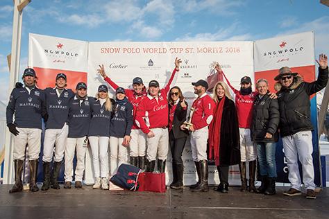 Snow Polo World Cup St. Moritz 2018
