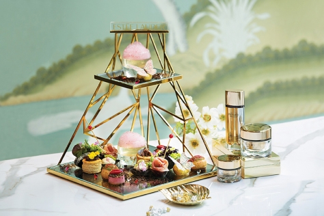 Gradini X Estée Lauder Black Truffle Diamond Afternoon Tea(For two) (1)