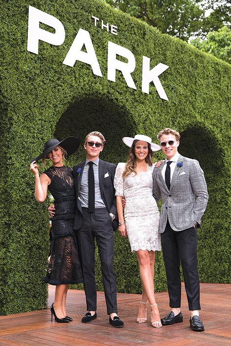 2018 Derby Day for VRC: The Nursery/Domain/The Park/FOTF
