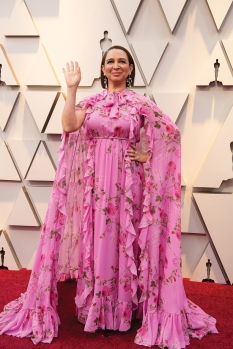 Maya Rudolph arrives on the red carpet of The 91st Oscars® at the Dolby® Theatre in Hollywood, CA on Sunday, February 24, 2019.